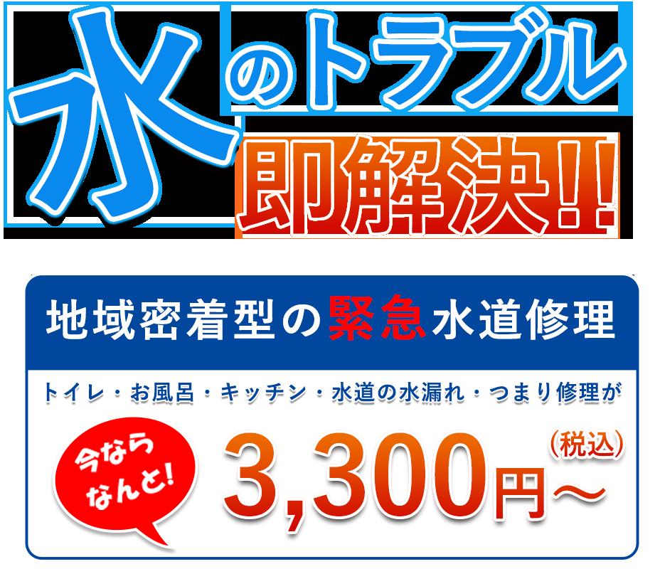 今なら基本料金が3,000円→1,000円 キャンセル料無料 お見積り調査無料 深夜・追加料金一切なし お電話から最短15分でかけつけます!